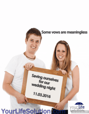 Gif, Life, and Memes: Some vows are meaningless  Saving ourselves  for our  wedding night  11.03.2016  your life  seluien  COM  YourLifeSolution.com life-insurancequote: business-biddie:  life-insurancequote:  innocent-before-this:  life-insurancequote:  kay-the-strange:  life-insurancequote:   Save up to 70% at http://YourLifeSolution.com Follow us for more nonsense like this   @ballsballsbowls please tell me you see this ad. Its so terrible I had to reblog That's just your opinion…which coincidentally is about the same as nearly everyone else's opinion.  What the fuck is this blog even?? Like is it real or ??  Before you question reality….. GET LIFE INSURANCE!   I'm questioning a company poorly attempting to relate to a new market through memes  Relating to people isn't necessary.  Roombas don't relate to anybody.  Eric Andre doesn't relate to his audience and he's a comedic genius.