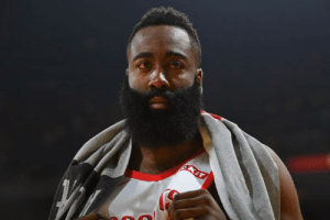 "The Game, Free, and Game: Some Warriors aren't buying that Harden's eye is ""extremely hurt,"" per Chris B. Haynes  ""They were talking about some of the shots he was shooting during the game, then he gets to the free-throw line and he's squinting like he can't see it"""