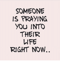 And I prayed for him last night, like I do just about every night. patientlywaiting: SOMEONE  IS PRAYING  YOU INTO  THEIR  LIFE  RIGHT NOW And I prayed for him last night, like I do just about every night. patientlywaiting