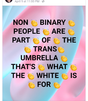 Someone please explain how refusing to identify as a gender is the same thing as wanting to change your gender.: Someone please explain how refusing to identify as a gender is the same thing as wanting to change your gender.