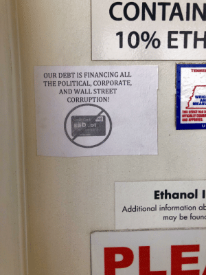 Someone posted this on a gas pump in my town: Someone posted this on a gas pump in my town