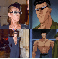 Celine Dion, Celine, and Dion: Someone said Celine Dion looks like Toguro.