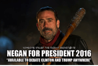 Check us out at Someone Spilled the Fuck-it Bucket: SOMEONE SPILLED THE FUCK-IT BUCKET@ FB  NEGAN FOR PRESIDENT 2016  AVAILABLE TO DEBATE CLINTONAND TRUMP ANYWHERE' Check us out at Someone Spilled the Fuck-it Bucket
