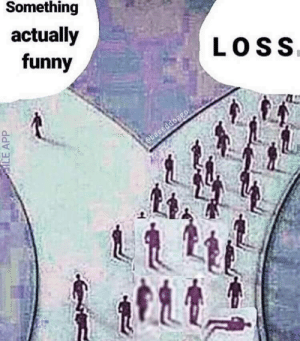 Actually Funny: Something  actually  funny  LOSS