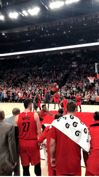 "Memes, Shit, and Damian Lillard: ""Something just told me when he threw it up in the air. I was like 'that shit going in.' He's a really, really, really good player, not just for a rookie."" - Damian Lillard on Luka Doncic   VIDEO: @Max_graves https://t.co/To6epFSkOe"