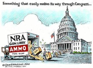 Tumblr, Blog, and Cartoon: Something that easily makes its way through Congress  NRA  GUN LOBBY  AMMO  FOR GOP  ODAVESRANLUND.COM  POLITICAL CARTOONs. com cartoonpolitics:  (cartoon by Dave Granlund)
