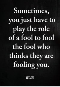 Fooling You