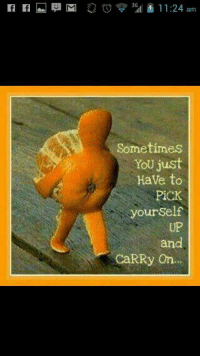 <p>Keep calm and carry on&hellip;.</p>: Sometimes  YoU just  HaVe to  PİCK  yourSelf  UP  and  CaRRy On <p>Keep calm and carry on&hellip;.</p>