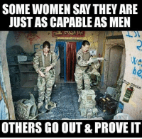 We love our female vets too credit: @pop_smoke_official: SOMEWOMEN SAY THEY ARE  JUST ASCAPABLE ASMEN  moke  OTHERS GO OUT& PROVEIT We love our female vets too credit: @pop_smoke_official
