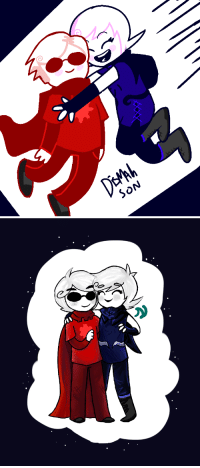 Target, Tumblr, and Best: SON ectotheology: i redrew some of my old fanart!!! dave and roxy are the best! (this is NOT ship art, i cant believe i even have to say that) left is from today, january 7 2018. right is from october 2015. ive improved a lot!