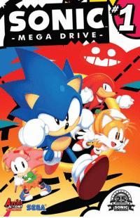 Dank, Drive By, and Driving: SONIC  MEG A DRIVE-  25  Arch  SEGA  ACTION! S Time to go back to the classics. SONIC: MEGA DRIVE, by Archie Comics, is out now! http://bit.ly/29t8KtR