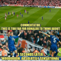 Who remembers this? 🤣 2008 TB: SONY Cyber-shiot Ford  d  Maestro  For  COMMENTATOR  THIS IS TOO FAR FOR RONALDO TO THINKABOUT  0  3 SECONDS LATER  WO00OW,ABSOLUTELY SENSATIONAL Who remembers this? 🤣 2008 TB