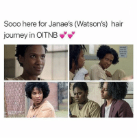 Journey, Memes, and Hair: Sooo here for Janae's (Watson's) hair  journey in OITNB  DO NOT I big chopped Nov 25th. The one year anniversary of this account thingy