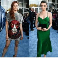 Sophie Turner and Maisie Williams at the Game of Thrones season 7 premiere today in Los Angeles! . . . . . . thronesmemes gameofthrones asoiaf got hbo gameofthronesfamily gameofthroneshbo gameofthronesfan sansastark sophieturner aryastark maisiewilliams: Sophie Turner and Maisie Williams at the Game of Thrones season 7 premiere today in Los Angeles! . . . . . . thronesmemes gameofthrones asoiaf got hbo gameofthronesfamily gameofthroneshbo gameofthronesfan sansastark sophieturner aryastark maisiewilliams