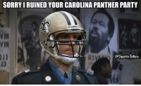 Smh.. Drew be like.. lol DoubleTap and Tag Friends for a laugh It's a joke people's don't get heated now lol..: SORRYI RUINED YOUR CAROLINA PANTHER PARTY  SAINT  V3  @Sportsjokes  10 Smh.. Drew be like.. lol DoubleTap and Tag Friends for a laugh It's a joke people's don't get heated now lol..