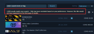 What is it!?!?: Sort by Relevance  enter search term or tag  Search  3,908 results match your search. 1 title has been excluded based on your preferences. However, this title would  not have appeared on the first page of results.  STRESS LEEL  BONEWORKS  BONEWORKS  CDN$ 33.99  10 Dec, 2019  VR Only  Valve Index Controllers  CDN$ 369.00  28 Jun, 2019  Halo: The Master Chief Collection  CDN$ 49.99  3 Dec, 2019  THAT CHIE COLLECTION What is it!?!?