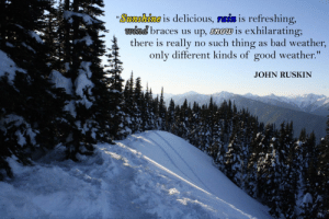 "great-quotes:  [Image] [OC] [388 x 2592] ""Sunshine is delicious, rain is refreshing, wind braces us up, snow is exhilarating…"" -John RuskinMORE COOL QUOTES!: Sosa 10008 is delicious, TBİS is refreshing,  wind braces us up, snow is exhilarating;  there is really no such thing as bad weather  only different kinds of good weather.""  JOHN RUSKIN great-quotes:  [Image] [OC] [388 x 2592] ""Sunshine is delicious, rain is refreshing, wind braces us up, snow is exhilarating…"" -John RuskinMORE COOL QUOTES!"