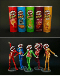 9gag, Memes, and Pringles: SOUR  CREAM  SALT&  VINEGAR  BBQ  HONEY  MUSTARD  &ONION  NT PESO NETO 550  Cnaentes I knew it! I knew Pringles man has a great body! - By @kharukik97⠀ ⠀ pringlesman model 9gag