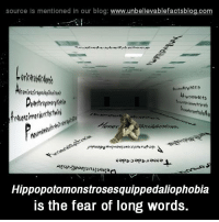 the fear of long words
