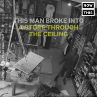"""Memes, Police, and 🤖: SOURCE:New Or eans Police Department  [NOW]  NOMI  NONE  Now  THIS]  HIS MAN BROKE INTO  0RE""""THROUGH  THE CEILING Didnt think it through! 😂😂 (via @joeazuza ) @pmwhiphop @pmwhiphop @pmwhiphop @pmwhiphop @pmwhiphop @pmwhiphop"""