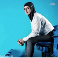 Memes, Muslim, and Nike: SOURCE: NIKE  Diply @nike released its first Pro Hijab for female Muslim athletes diply diplyvideo instavideo nike athletes sport womensfashion women equality opportunity