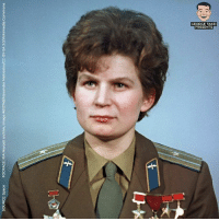 Memes, Image, and Space: SOURCE: Space  FOOTAGE: RIA Novosti archive, image #612748/Alexander Meklestov/CC-BY-SA 3.0/Wikimedia Commons  们 Women we should all know about.