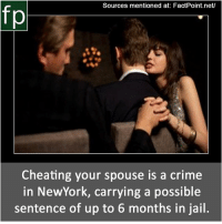 is cheating a crime