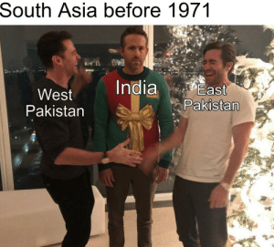 Two Nation Theory: South Asia before 1971  India  East  West  Pakistan  Pakistan Two Nation Theory
