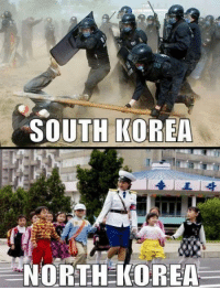 Teh best korea  ~Spring Brother 春哥: SOUTH KOREA  NORTH KOREA Teh best korea  ~Spring Brother 春哥