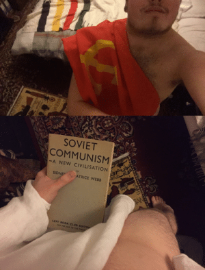 haus-hohenzollern:  @c-bassmeow there's much more Marxist and slightly nsfw than that 💪🏼   Leftist porn. I dig this :)  3 3 3 : SOVIET  COMMUNISM  -A NEW CIVILISATION  by  SIDNE  ATRICE WEBB  LEFT BOOK CLUB EDITIO  NOT FOR SALE TO THE PUBLI haus-hohenzollern:  @c-bassmeow there's much more Marxist and slightly nsfw than that 💪🏼   Leftist porn. I dig this :)  3 3 3