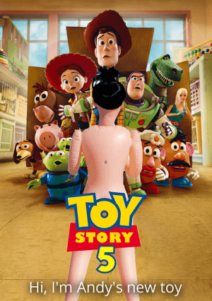 Yo, Toy Story 5 is fire!: SPACE EENER  TOY  STORY  Hi, I'm Andy's new toy Yo, Toy Story 5 is fire!