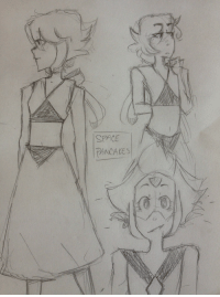 space-pancakes-art:  Some lapis doodles and a peridot: SPACE  PANCAKES space-pancakes-art:  Some lapis doodles and a peridot