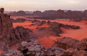"space-pics:  ""Tadrart Rouge"" from the south of Algeria. This is the closest place you can find on Earth that kinda looks like Mars.: space-pics:  ""Tadrart Rouge"" from the south of Algeria. This is the closest place you can find on Earth that kinda looks like Mars."