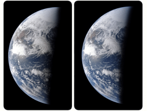 space-pics:  A 3D, stereoscopic view from Apollo 13: space-pics:  A 3D, stereoscopic view from Apollo 13