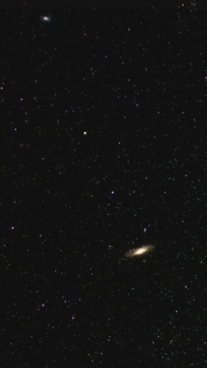 space-pics:  Andromeda and M33 with a 35mm lens [OC]: space-pics:  Andromeda and M33 with a 35mm lens [OC]