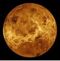 space-pics:  Computer-generated image of the surface of Venus using radar data collected from the Magellan spacecraft [1024 × 1024]: space-pics:  Computer-generated image of the surface of Venus using radar data collected from the Magellan spacecraft [1024 × 1024]