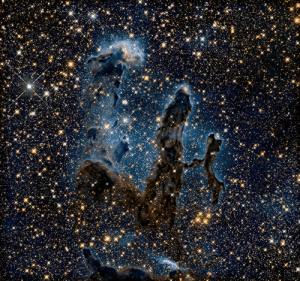 space-pics:  Eagle Nebula in Infrared Light by Hubble Heritage: space-pics:  Eagle Nebula in Infrared Light by Hubble Heritage