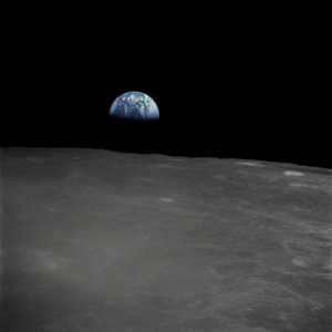 space-pics:  Earthrise - Apollo 16 by NASA on The Commons: space-pics:  Earthrise - Apollo 16 by NASA on The Commons