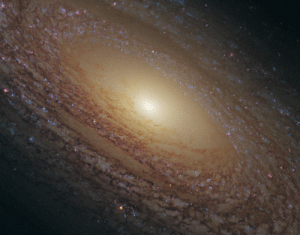 Tumblr, Blog, and Http: space-pics:  Flocculent spiral NGC 2841 [3897 x 3044]