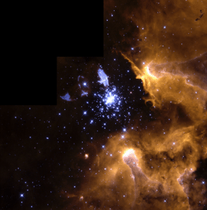 space-pics:  Hubble Telescope image of giant nebula NGC 3603 which features nearly the full life cycle of stars in one image. [1483 × 1504]: space-pics:  Hubble Telescope image of giant nebula NGC 3603 which features nearly the full life cycle of stars in one image. [1483 × 1504]