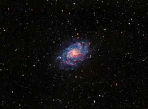 space-pics:  I took a picture of the Triangulum galaxy, 2.8 Million light years away, from my backyard in Sacramento. [OC]: space-pics:  I took a picture of the Triangulum galaxy, 2.8 Million light years away, from my backyard in Sacramento. [OC]