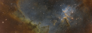 space-pics:  Just finished my 120 hour exposure 2 panel mosaic of the Heart Nebula (IC 1805; Melotte-15) [OC]: space-pics:  Just finished my 120 hour exposure 2 panel mosaic of the Heart Nebula (IC 1805; Melotte-15) [OC]