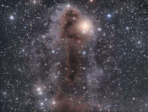 Tumblr, Blog, and Space: space-pics:  Lynds Dark Nebula 1251