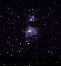 Tumblr, Blog, and Http: space-pics:  Orion Nebula without a telescope [2263x2481][OC]