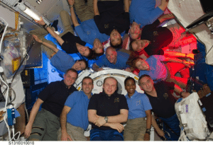 space-pics:  STS-131 and Expedition 23 Group Portrait by NASA on The Commons: space-pics:  STS-131 and Expedition 23 Group Portrait by NASA on The Commons