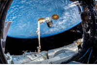Tumblr, Blog, and Http: space-pics:  The Canadarm. Today.