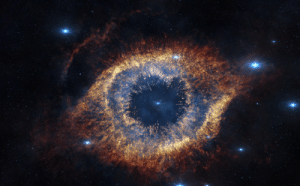 Tumblr, Blog, and Http: space-pics:  The Helix Nebula in infrared [4000 x 2479]