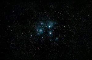 space-pics:  The Pleiades, from my bortle 9 London backyard [OC]: space-pics:  The Pleiades, from my bortle 9 London backyard [OC]