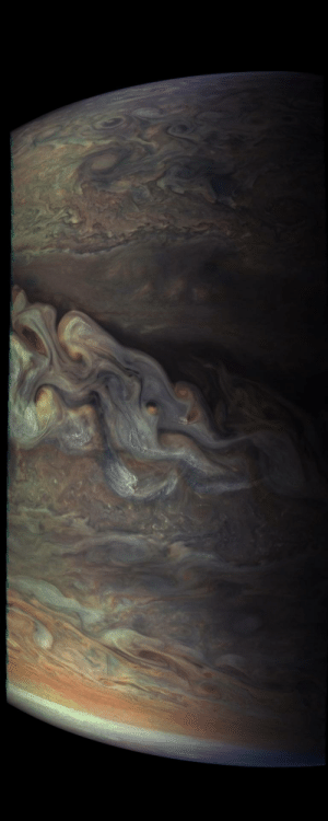 space-pics:  Three-dimensional Jovian cloudscape, courtesy of NASA's Juno spacecraft: space-pics:  Three-dimensional Jovian cloudscape, courtesy of NASA's Juno spacecraft