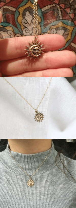 livelaughlovematters: This dainty and unique Moon and Sun Necklace is something out of this world! This Necklace serves a reminder that even in the darkest moments of your life there will always be a light at the end of the tunnel and for you to keep moving forward no matter how hard or long it may take! This beautiful Necklace will make a lovely and meaningful gift for your Friends and Family! You will not find this in Stores! => GET YOURS HERE <= : spaceocce livelaughlovematters: This dainty and unique Moon and Sun Necklace is something out of this world! This Necklace serves a reminder that even in the darkest moments of your life there will always be a light at the end of the tunnel and for you to keep moving forward no matter how hard or long it may take! This beautiful Necklace will make a lovely and meaningful gift for your Friends and Family! You will not find this in Stores! => GET YOURS HERE <=